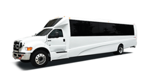 Ford Party Bus White Limo